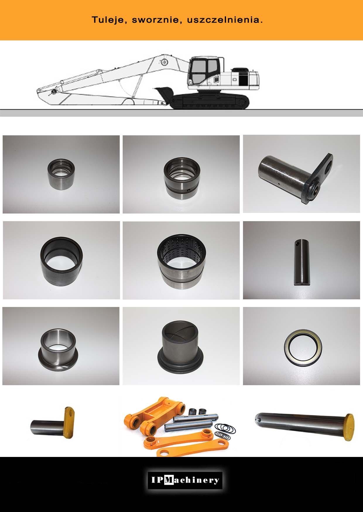 Modernistyczne Części do koparek Volvo | IP Machinery HN89